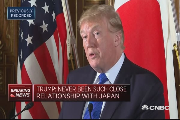 Trump: What happened to Otto Warmbier in N.Korea is 'a horrible story'
