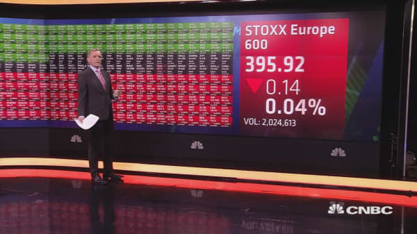 European markets open lower ahead of earnings, economic data; oil prices jump