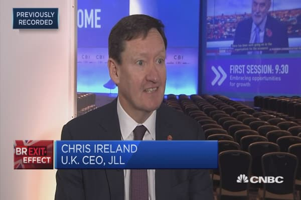 We need more clarity on Brexit, JLL's UK CEO says