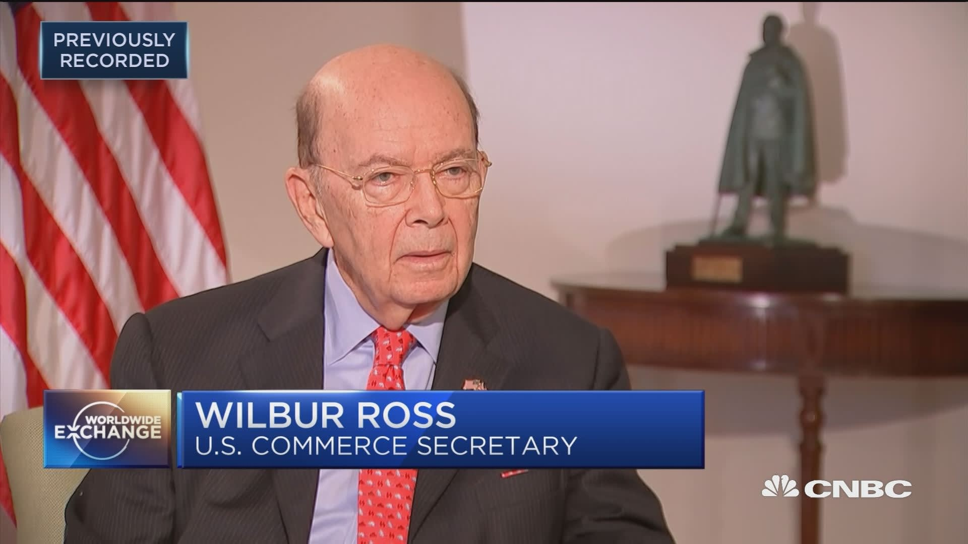 Wilbur Ross says reports that he did not disclose ties to Putin ...