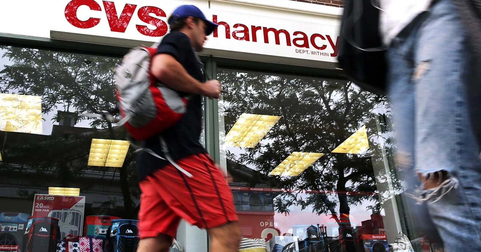 Old problems worry investors as CVS tries to head in a new direction