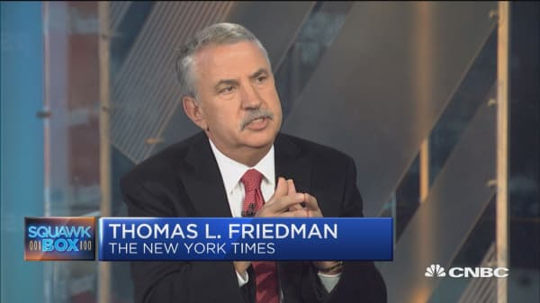 We're seeing four revolutions at once in Saudi Arabia: NYT's Tom Friedman