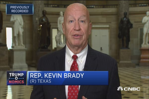 Rep. Kevin Brady:  GOP tax plan challenges the status quo