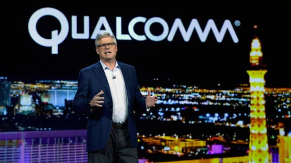 Qualcomm Inc. CEO Steve Mollenkopf.