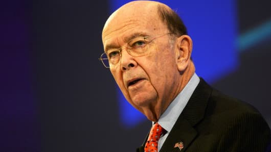 U.S. Commerce Secretary Wilbur Ross