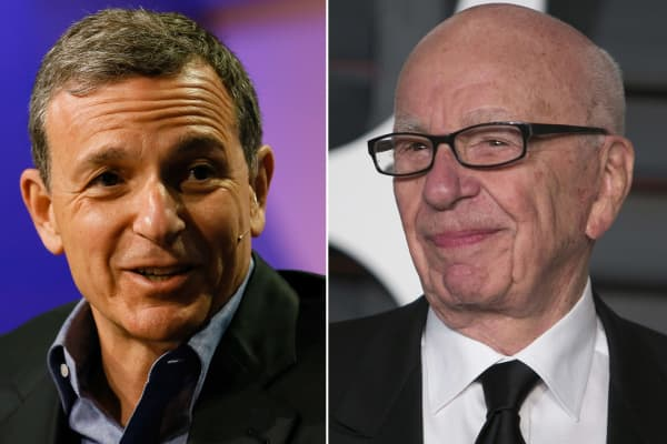 Image result for robert iger and rupert murdoch