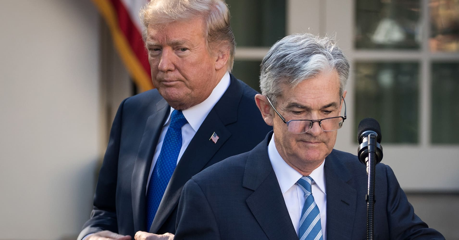 Trump attacks Fed Chairman Powell: 'I'm not even a little bit happy with my selection of Jay'