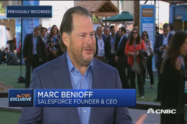 Salesforce CEO Marc Benioff: Every company is getting closer to their customer