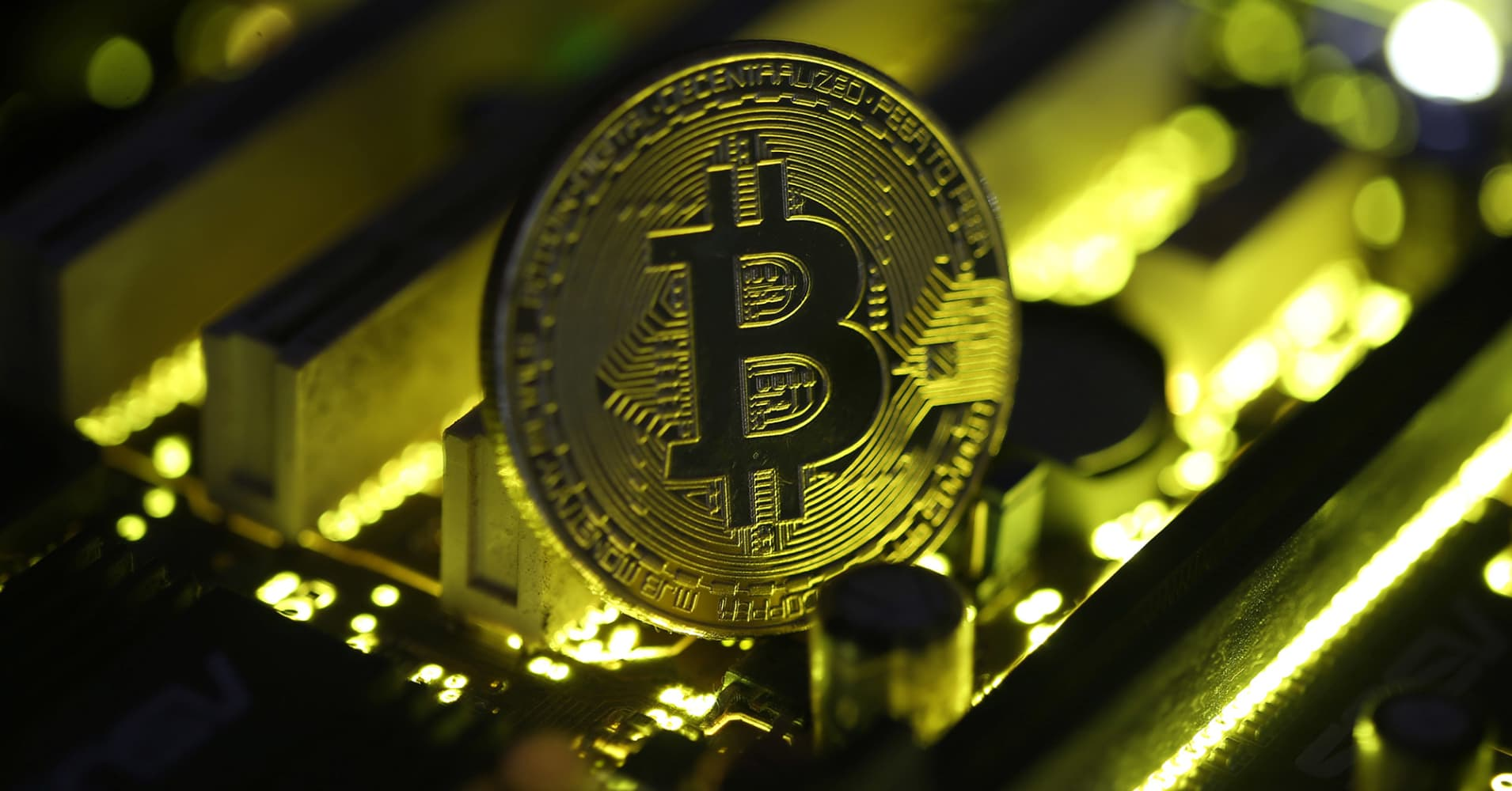 Bitcoin briefly drops 15% in rocky weekend on controversy over the digital currency's future