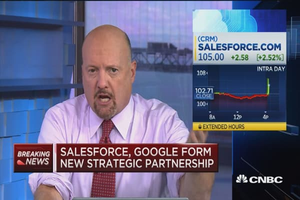 Salesforce CEO: Salesforce and Google Analytics together 'really exciting' for customers