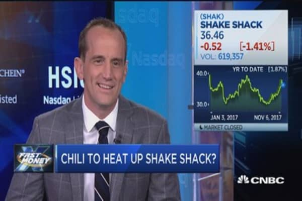 Shake Shack CEO dishes on chili, mobile ordering