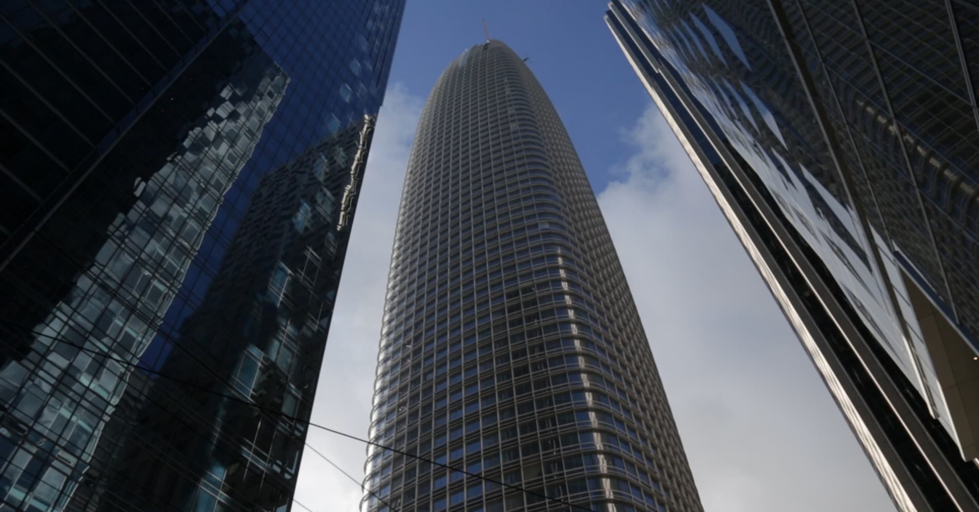 The tallest building in California is almost done — here's the view from the top floor