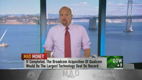 Cramer: There's more value in the Broadcom-Qualcomm deal than analysts realize