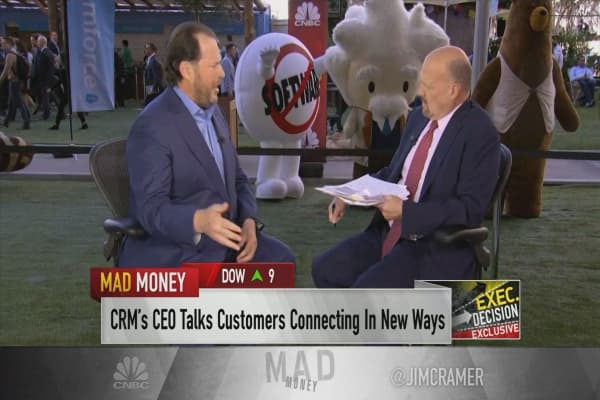 Salesforce CEO Marc Benioff: 'Loyalty is dead.' Here's how we're circumventing it