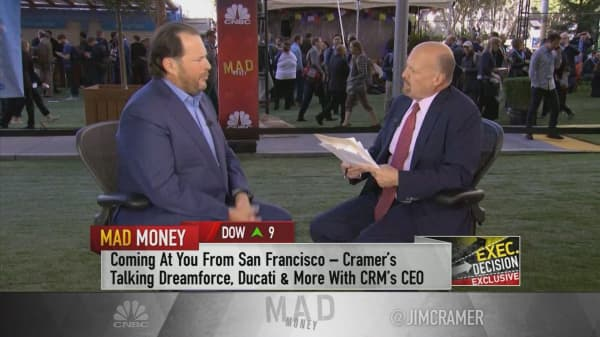 CRM's Benioff: How we're getting around the 'loyalty is dead' problem