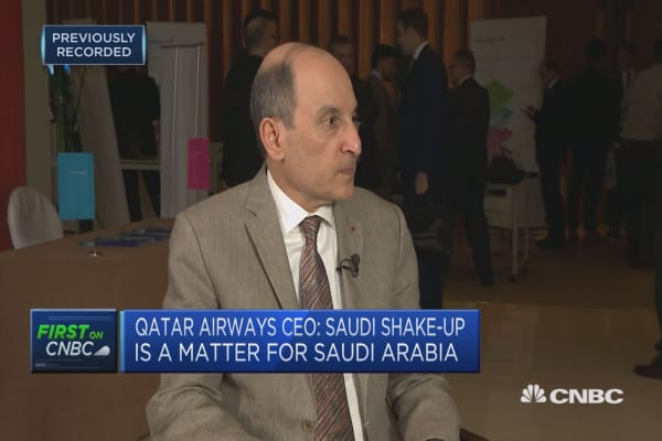 President Trump should do more about Qatar blockade, says Qatar Airlines CEO