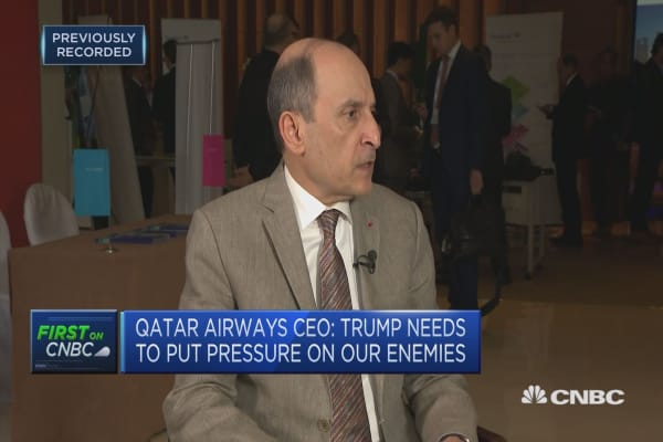We don't need to influence anybody, Qatar Airlines CEO on American Airlines issue