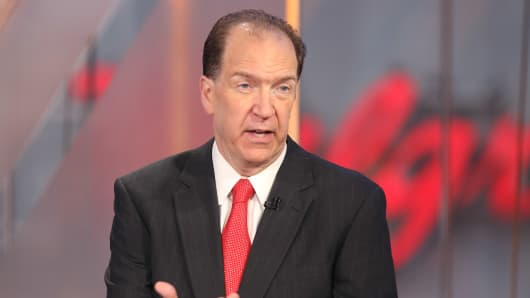 David Malpass, Under Secretary of the Treasury for International Affairs.