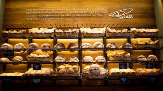 Starbucks opening Princi bakery in Seattle.