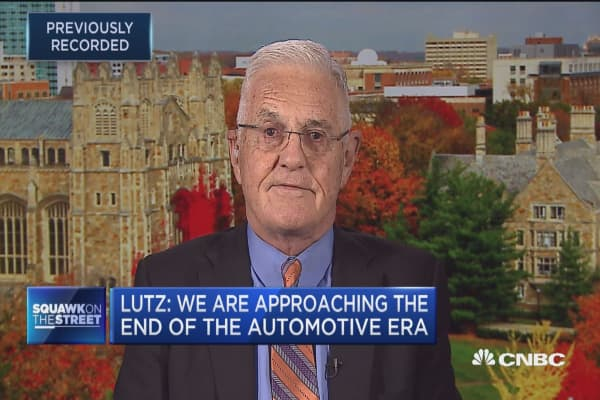 Bob Lutz: We are approaching the end of the automotive era
