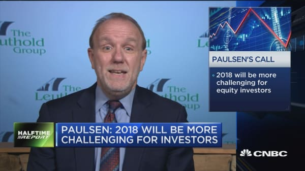 Jim Paulsen says the long-standing bull market could take a 'pause'
