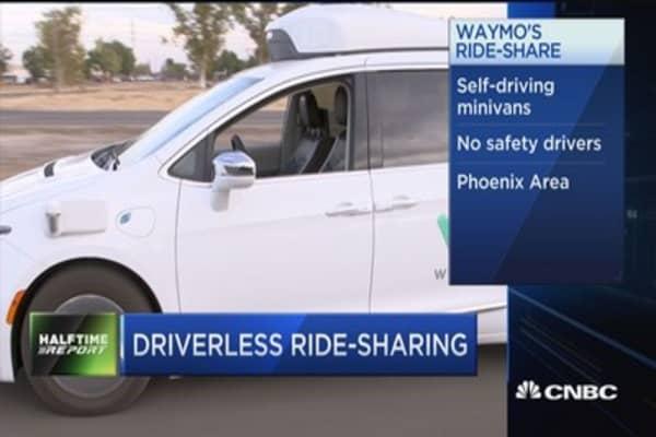 Alphabet's Waymo to launch driverless ride-sharing service in Phoenix area