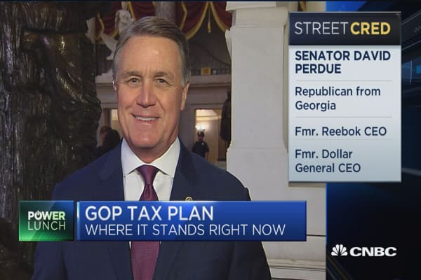 Sen. David Perdue on tax bill: This is what America wants