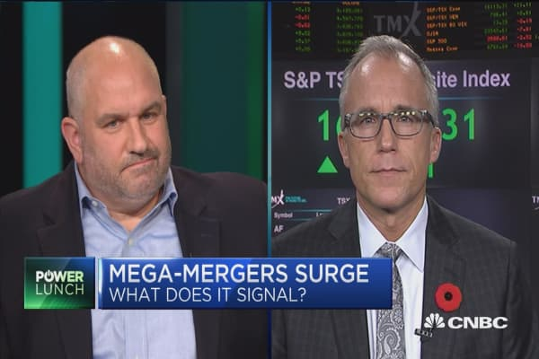 Too early to say that mega-mergers signify a market top: BMO Capital's Brian Belski