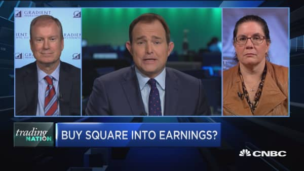 Trading Nation: Buy Square into earnings?