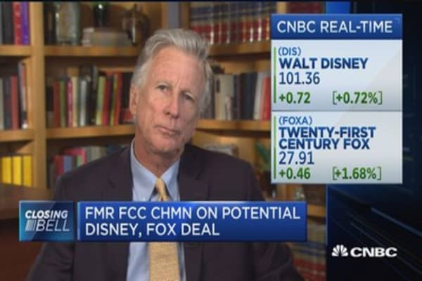 Former FCC chair: Traditional antitrust issues likely wouldn't apply to Disney-Fox deal