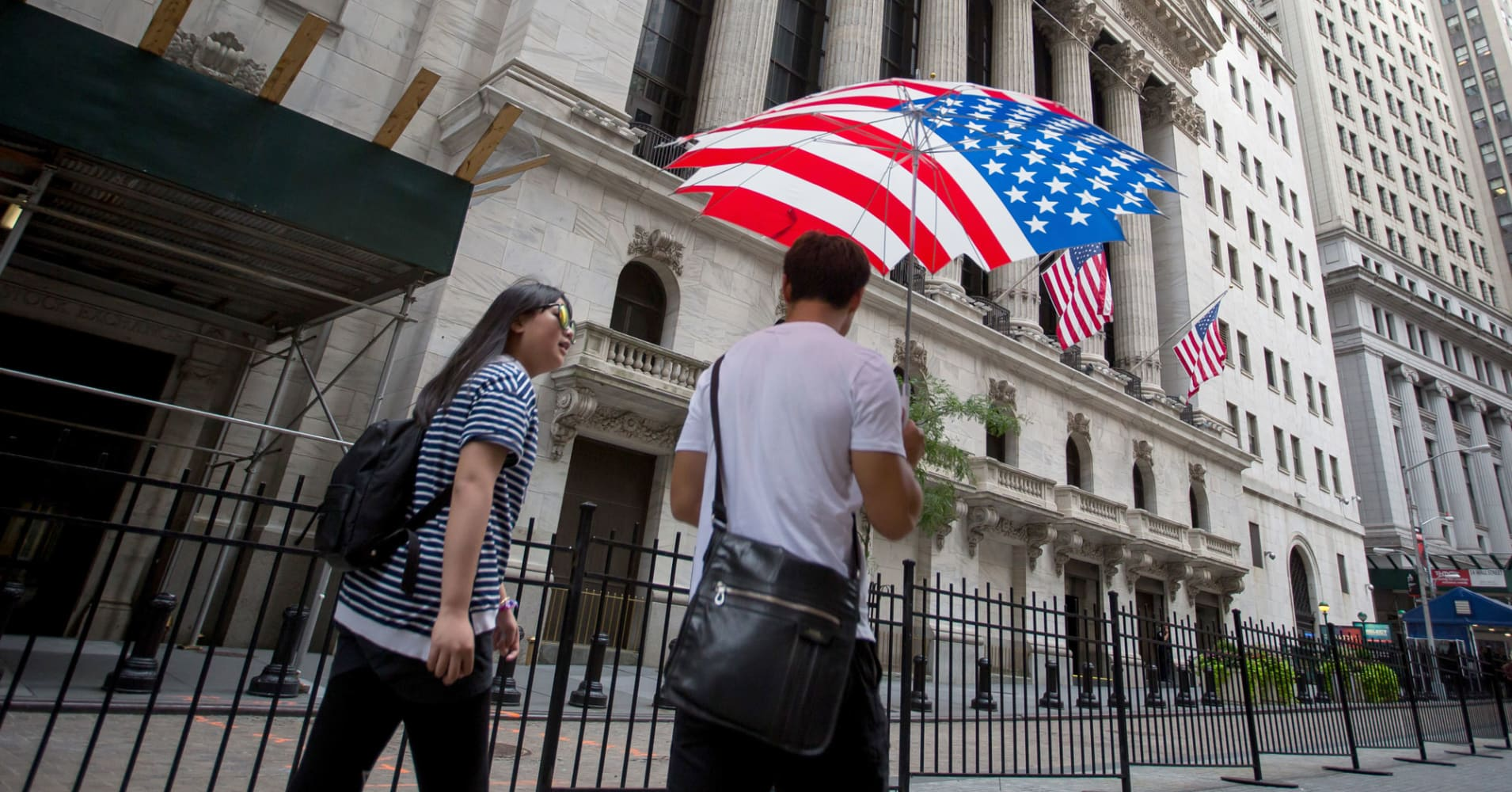 US economic fundamentals are good. Don't overreact to trade issues