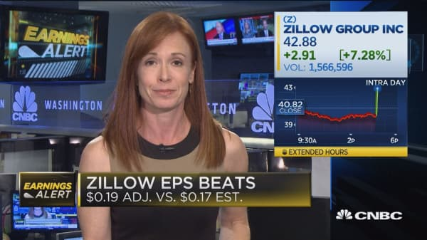 Zillow EPS beats, gives strong guidance
