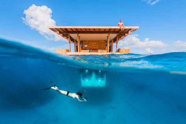 Underwater Room, Manta Resort