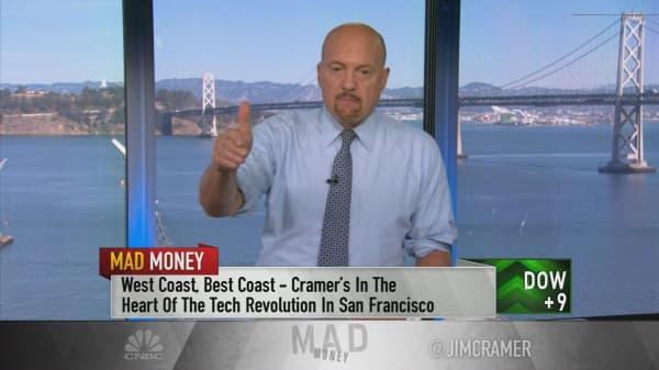 Cramer: How the Salesforce-Google deal will help companies buck Amazon