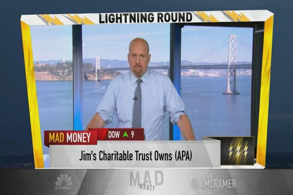 Cramer's lightning round: Don't give up on Incyte