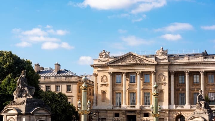 Hotel de Crillon in Paris, France