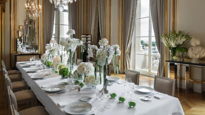 Salon des Aigles at the Hotel de Crillon