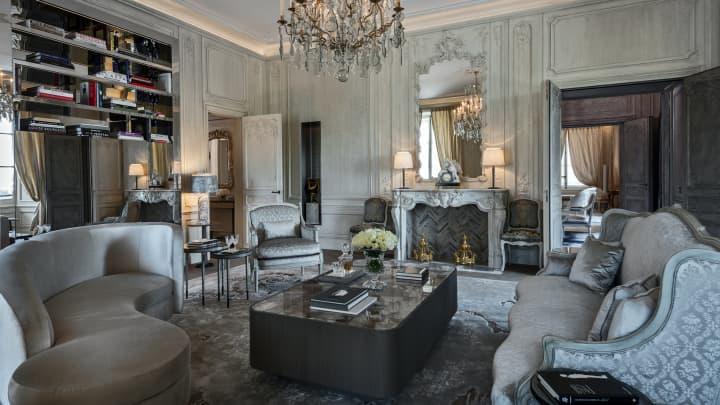 Les Grands Appartements at the Hotel de Crillon