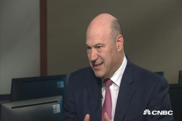Gary Cohn on the differences between Goldman Sachs and the White House