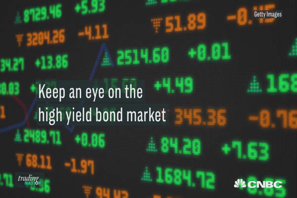 The rally in high yield bond prices have pushed yields lower, investors should pay close attention