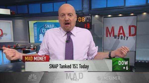 Snap shouldn't even be a public company: Cramer