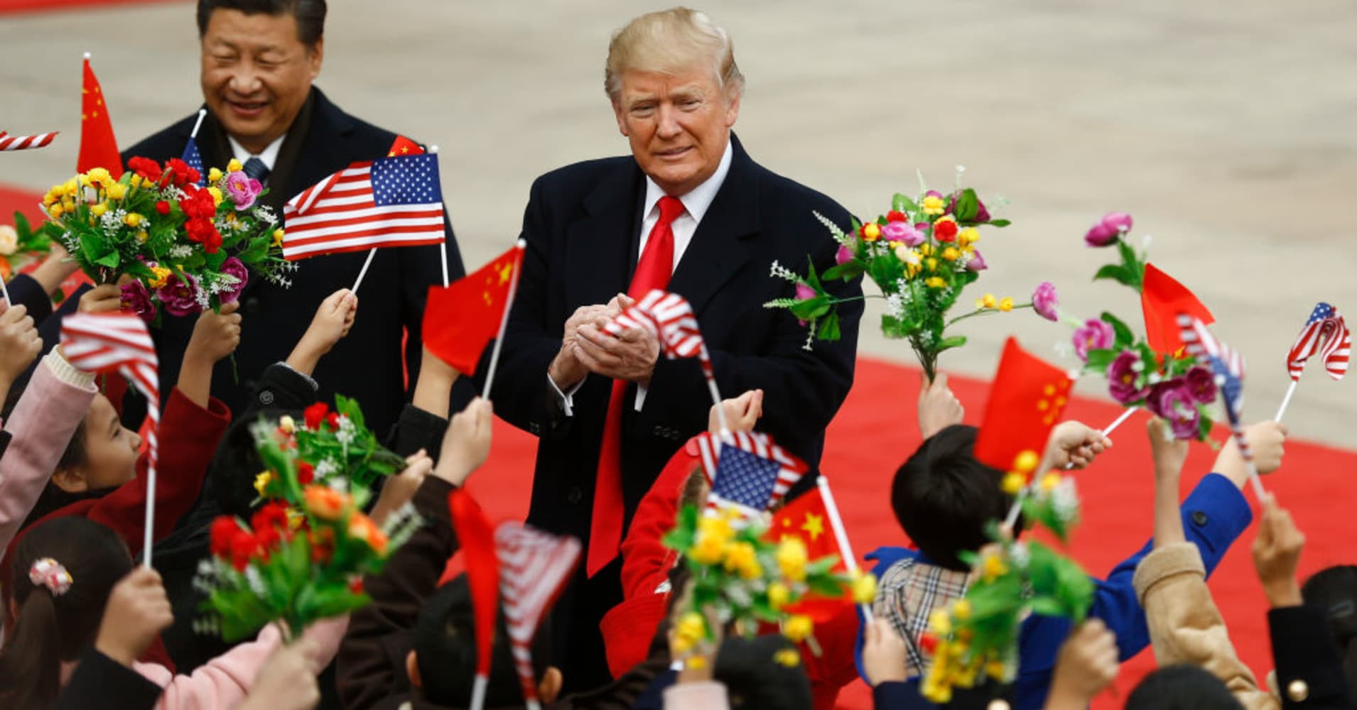 Trump: 'I give China great credit' for taking advantage of the US — but that must change