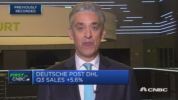 Deutsche Post DHL CEO: 'Mutual benefit' to e-commerce business