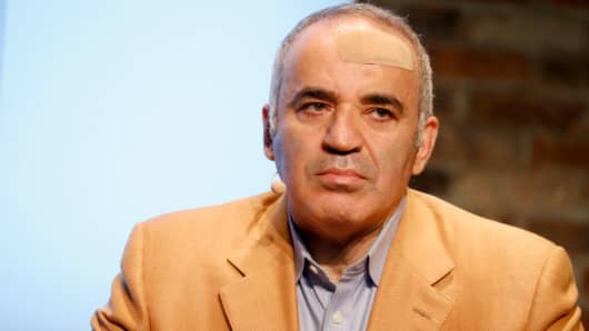 Chairman of the Human Rights Foundation and chess legend Garry Kasparov.