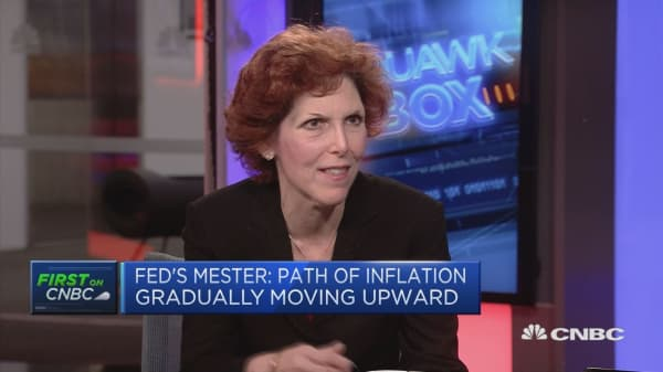 Fed's Mester: Not basing outlook on tax reform package
