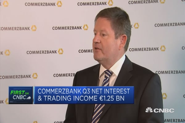 Commerzbank CFO: Will review 2018 dividend possibilities