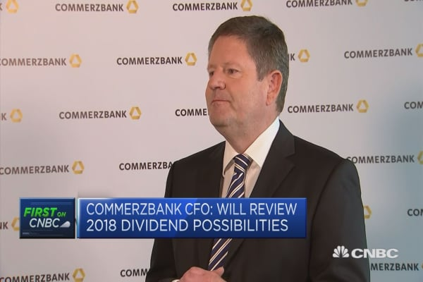 Commerzbank CFO on M&A rumors: 'Nothing will happen' next year