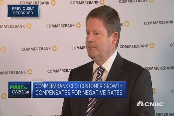 Commerzbank CFO: NPLs 'nothing to lose sleep about'