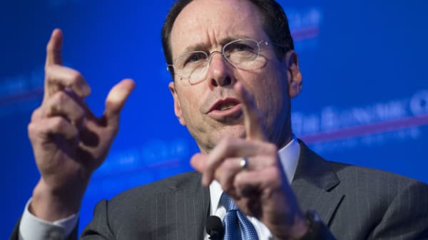 Randall Stephenson, Chairman and CEO of AT&T