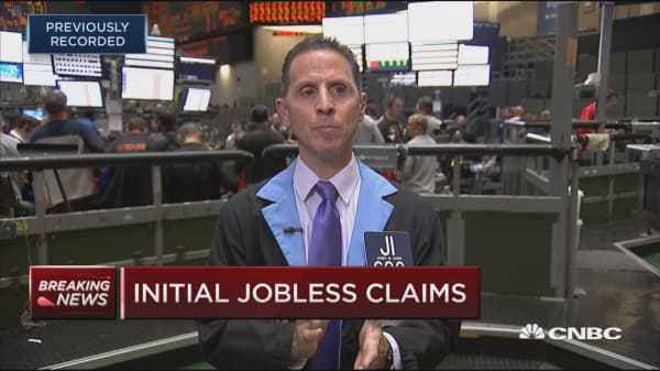 Initial jobless claims up 10K to 239,000